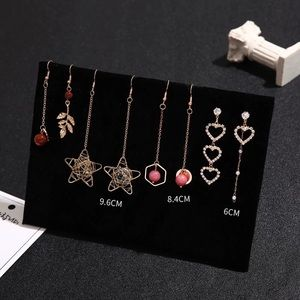 4 pairs/ selected drop earring set